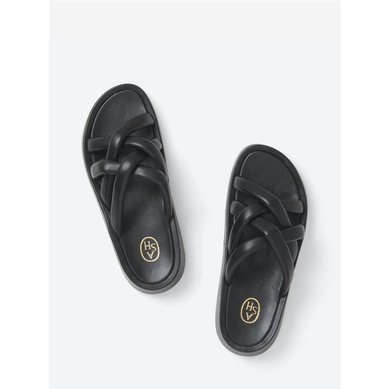 ASH - VANESSA knot sandals - Black