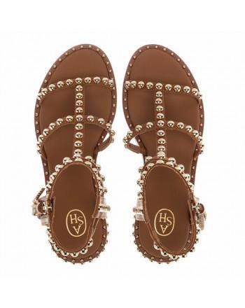 ASH - POWER studs sandals - Cinnamon / Ariel