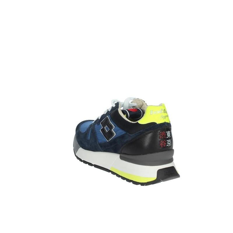 LOTTO LEGGENDA - Sneakers  Tokyo Shibuya - Blu/Celeste -
