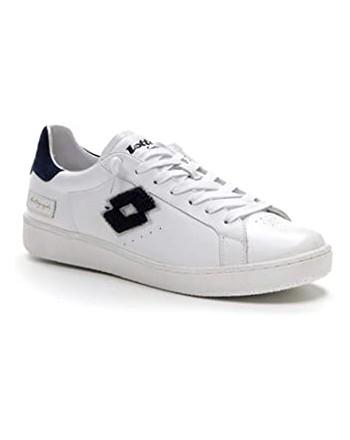 LOTTO LEGGENDA - Sneakers  AUTOGRAPH - Bianca/Blu -