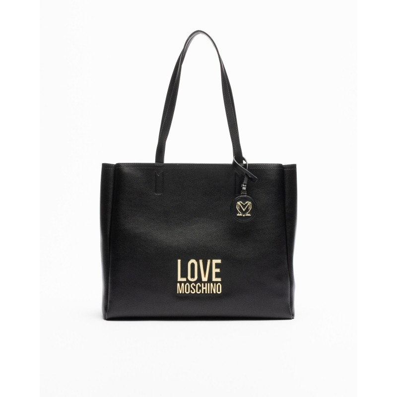 LOVE MOSCHINO - Borsa con Logo - Nero -