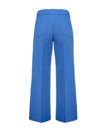 PINKO - Wide leg trousers PEGGY 3 - BLUE