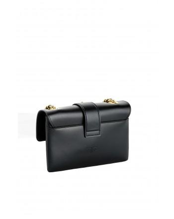 PINKO - LOVE MINI SOFT SIMPLY Bag - BLACK