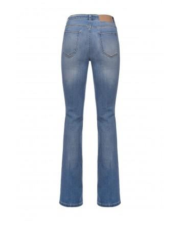 PINKO- FLORA 12 FLARE Jeans- Blue/ Sapphire