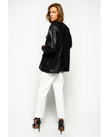 PINKO - PIERO Eco-leather Jacket - BLACK
