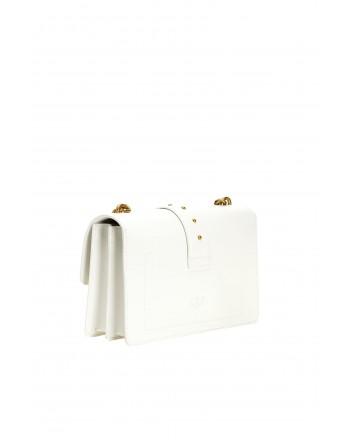 PINKO -LOVE CLASSIC ICON SIMPLY Bag - White -