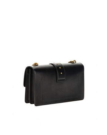 PINKO - Borsa LOVE CLASSIC ICON SIMPLY -Nero -