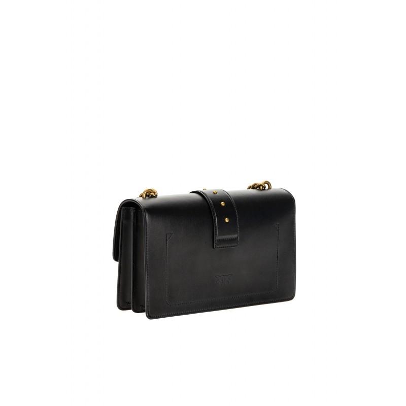 PINKO - LOVE CLASSIC  ICON SIMPLY Bag   - Black