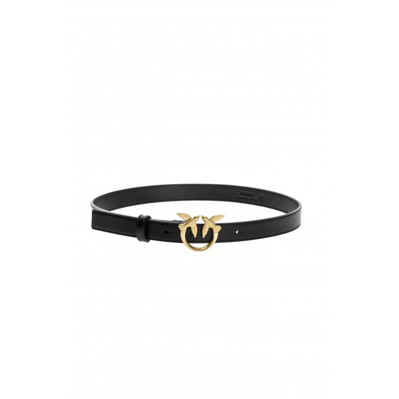 PINKO - BERRY  SIMPLY SMALL Belt - Black