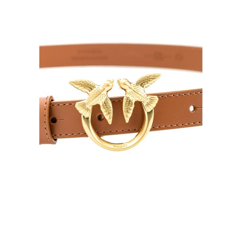 PINKO - Cintura BERRY  SIMPLY SMALL   - Cuoio -