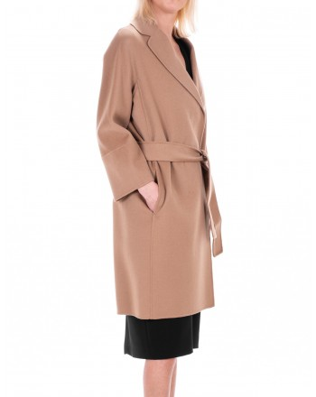 MAX MARA STUDIO - ARONA coat in Pure New Wool - Camel