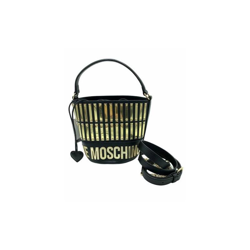 LOVE MOSCHINO - Borsa a secchiello - Nero -