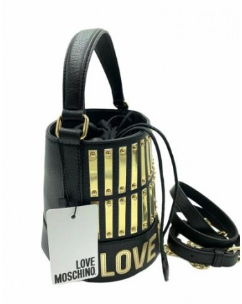 LOVE MOSCHINO - Bucket bag - Black -
