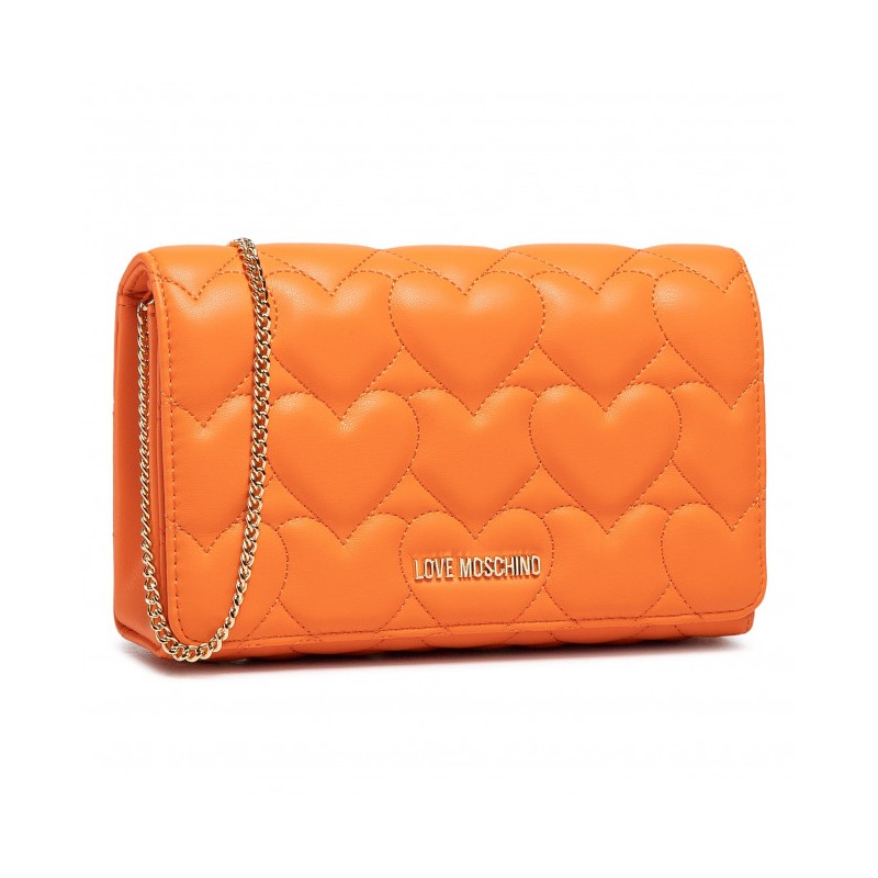 LOVE MOSCHINO - Borsa a tracolla - Arancio -