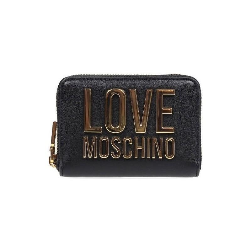 LOVE MOSCHINO - Portafoglio piccolo Logo Moschino - Nero