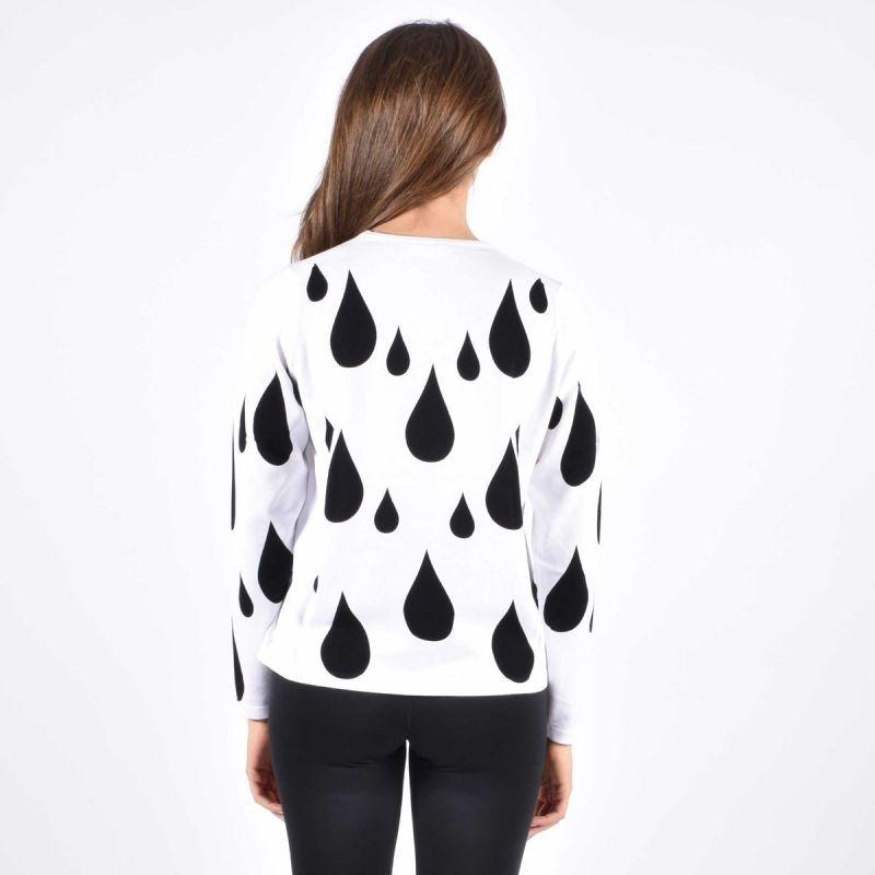 LOVE MOSCHINO - Drops sweater - White