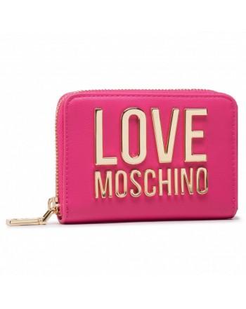 LOVE MOSCHINO - Portafoglio piccolo Logo Moschino - Fucsia