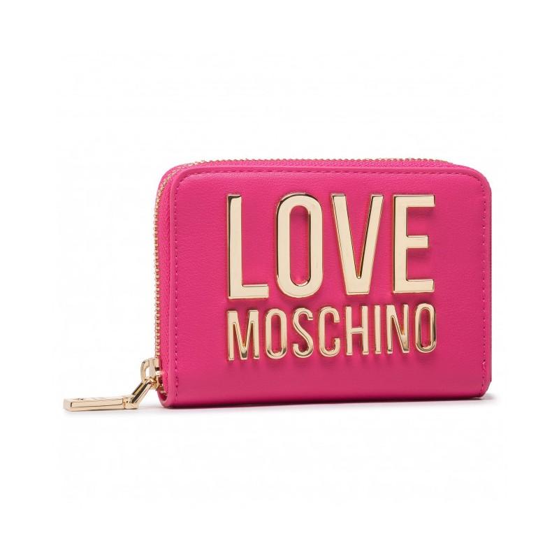 LOVE MOSCHINO - Small wallet - Fucsia