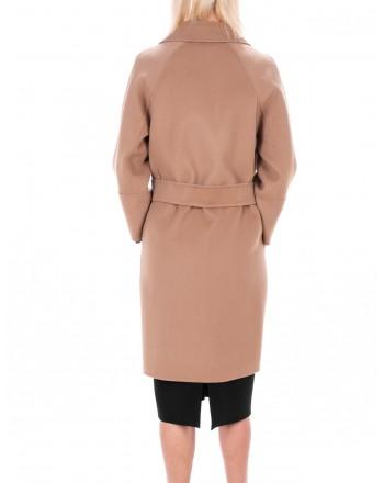 MAX MARA STUDIO - ARONA coat in Pure New Wool - Camel