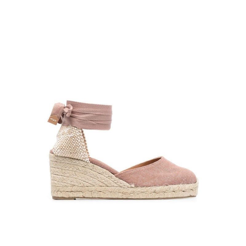 CASTANER - Wedge Espadrilles CARINA - Dusty Pink