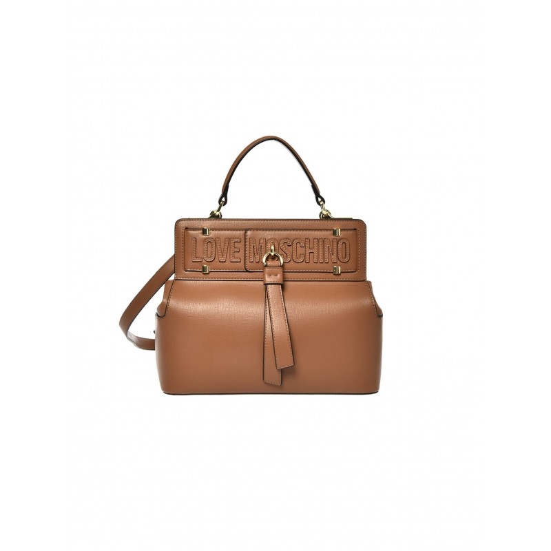 LOVE MOSCHINO - Hand / shoulder bag - Leather