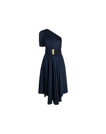 MICHAEL by MICHAEL KORS - One Shoulder Dress - Midnight