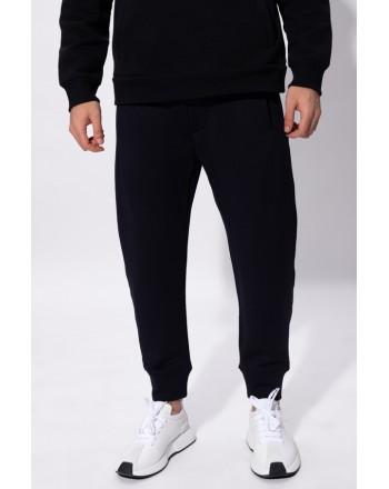 EMPORIO ARMANI - Pantaloni in felpa con Logo - Blu -