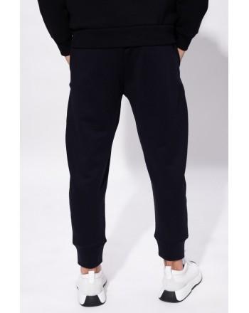 EMPORIO ARMANI - Sweatpants with Logo - Blue -