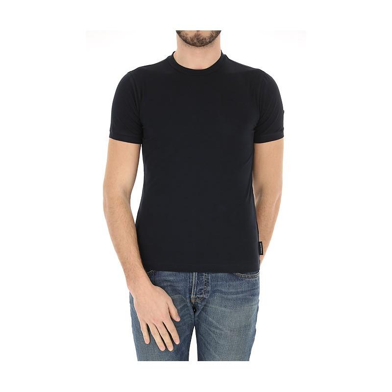 EMPORIO ARMANI - T-shirt girocollo 8N1M8A - Blu -