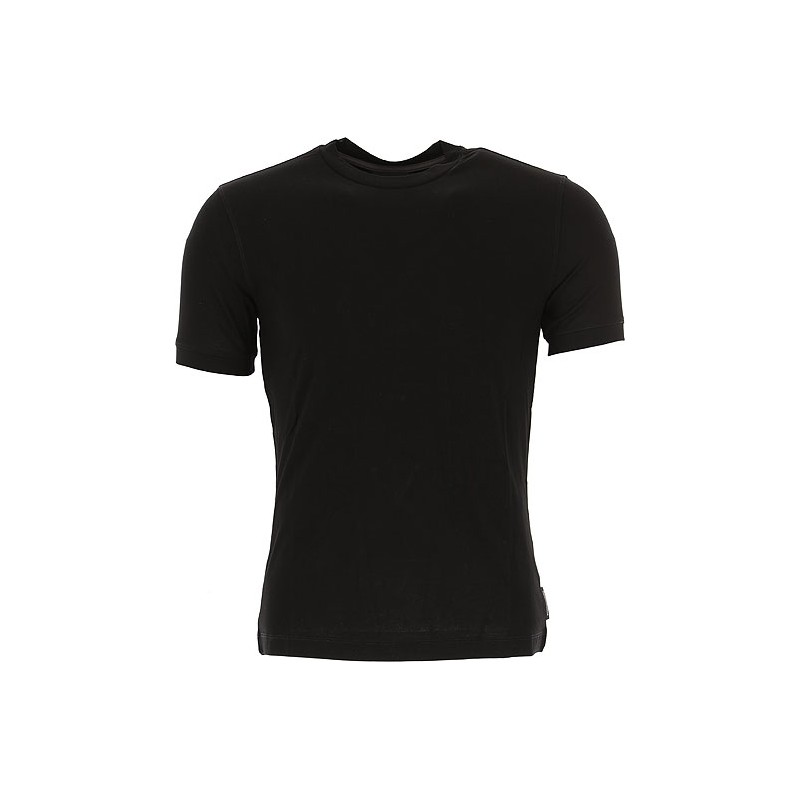 EMPORIO ARMANI - Round neck T-shirt 8N1M8A - Black -