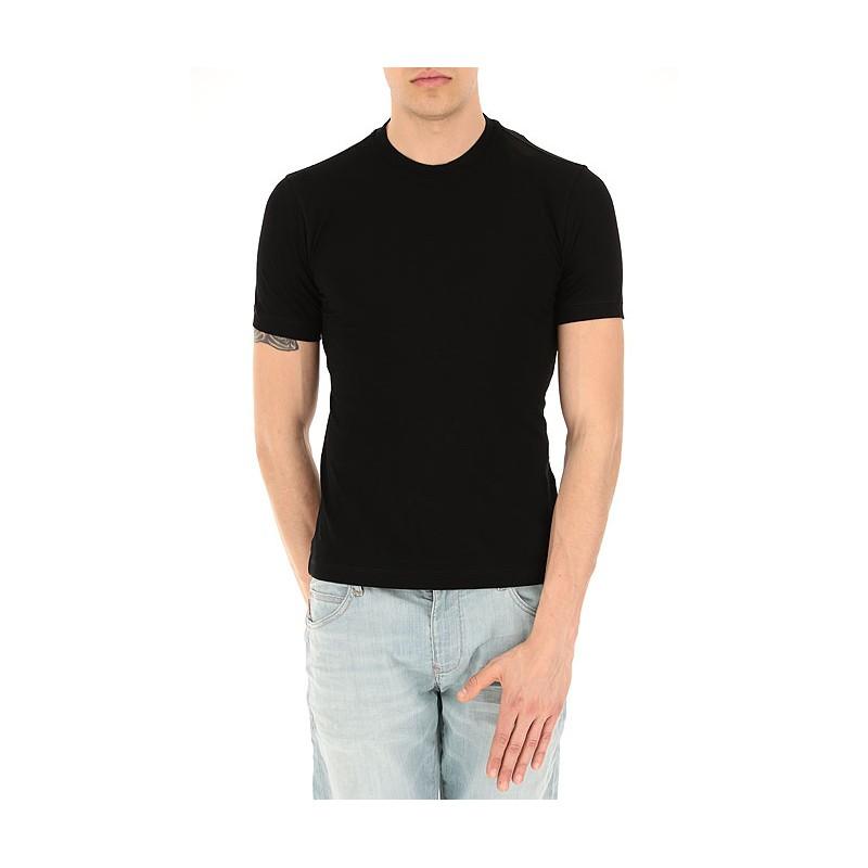 EMPORIO ARMANI - T-shirt girocollo 8N1M8A - Nero -