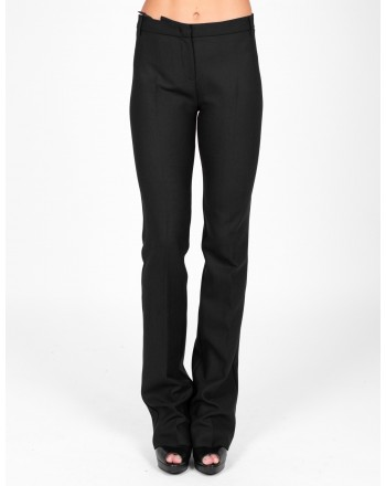 PINKO - ALLIEVO trousers in wool - Black