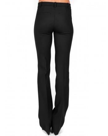 PINKO - ALLIEVO trousers in wool - Black