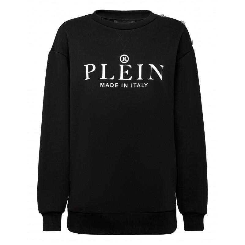 PHILIPP PLEIN - Felpa Iconico PLEIN WJO0683 - Nero