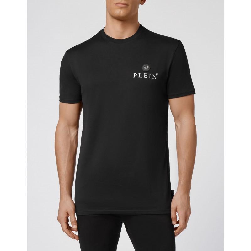 PHILIPP PLEIN - T-Shirt Girocollo Iconico PLEIN MTK5119 - Nero