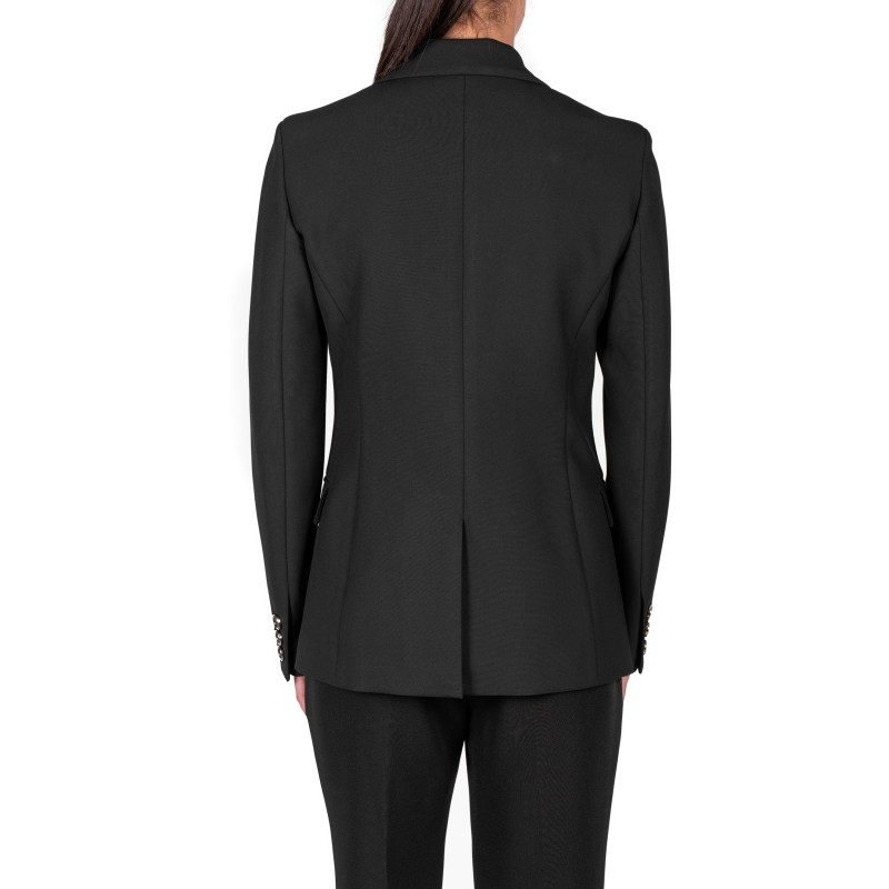 VERSACE COLLECTION - Single-breasted jacket - Black