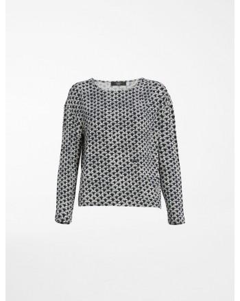 WEEKEND MAX MARA - T-Shirt in Jersey di Viscosa NAVE -WE5941061706  -Blu