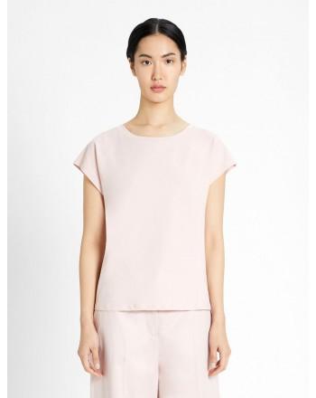 WEEKEND MAX MARA -  MULTIE Cotton T-Shirt WE594117110 - Pink