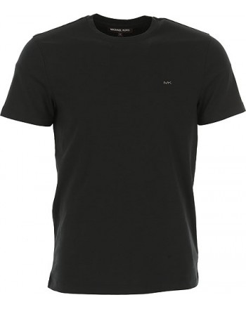 MICHAEL by MICHAEL KORS - T-Shirt with MK logo - CB95FJ2C93 - Black -