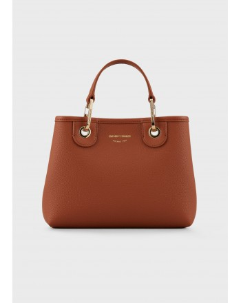 EMPORIO ARMANI - Deer Patterned MYEA BAG Y3D166YFO5B  - Leather/ Red
