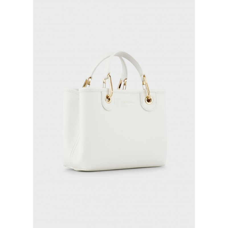 EMPORIO ARMANI - Deer Patterned MYEA BAG  Y3D166YFO5B  - White/ Leather