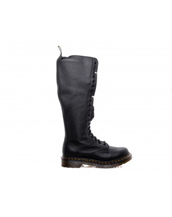 DR. MARTENS - Stivali altissimi VIRGINIA 20 EYE - Nero