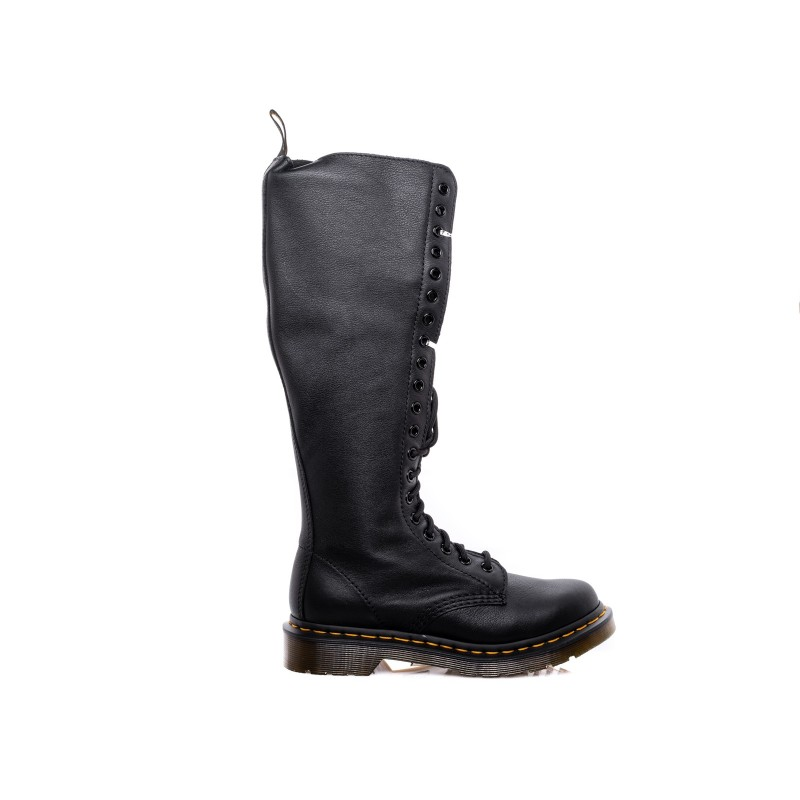 DR. MARTENS - Very High Boots VIRGINIA 20 EYE - Black