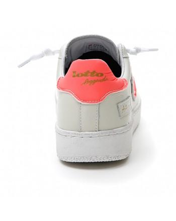 LOTTO LEGGENDA - Sneakers  AUTOGRAPH - Bianca/Magenta -