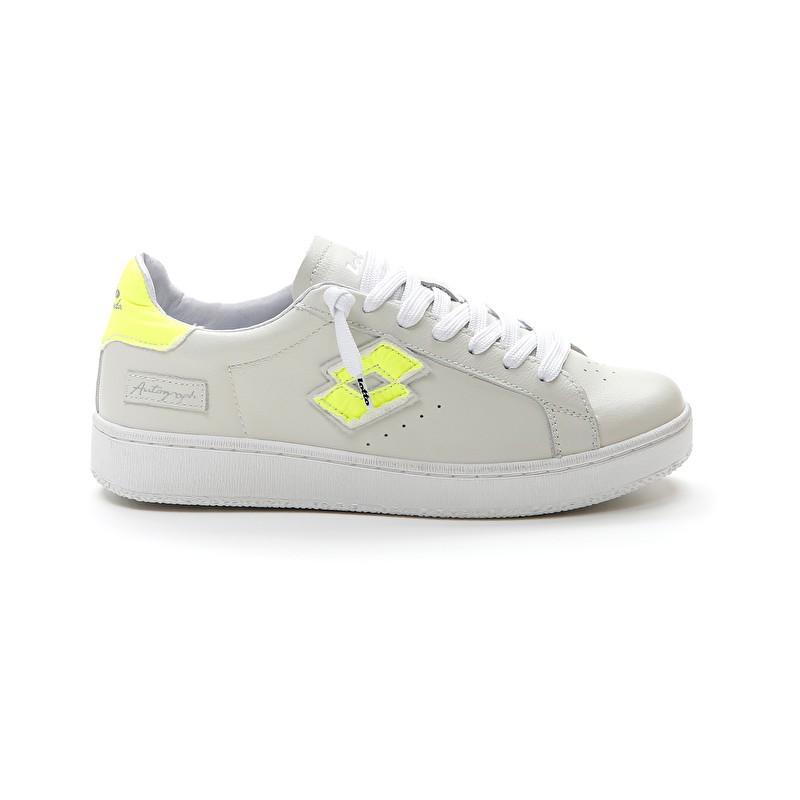 LOTTO LEGGENDA - AUTOGRAPH Sneakers - White / Yellow -