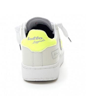 LOTTO LEGGENDA - Sneakers  AUTOGRAPH - Bianca/Giallo -