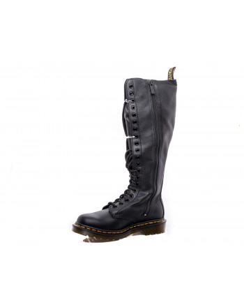 DR. MARTENS - Very High Boots VIRGINIA 20 EYE - Black
