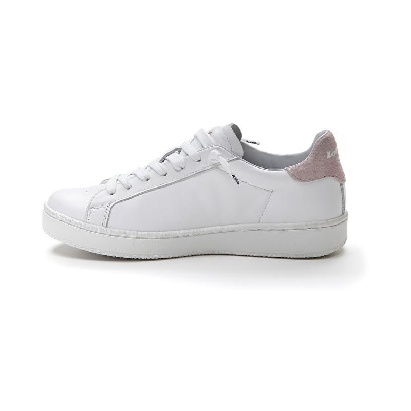 LOTTO LEGGENDA - AUTOGRAPH Sneakers 216280 - White / Pink Logo -