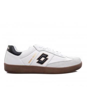 LOTTO LEGGENDA - Sneakers BRASIL SELECT in pelle - Nero/Bianco