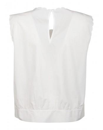PINKO - adultero top - white